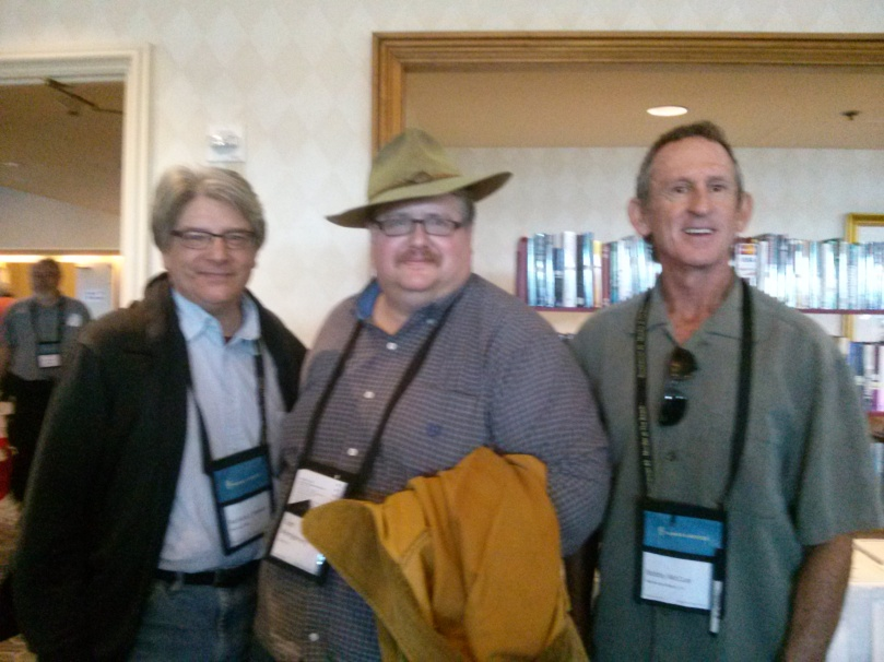 With Richard Brewer and Bobby McCue