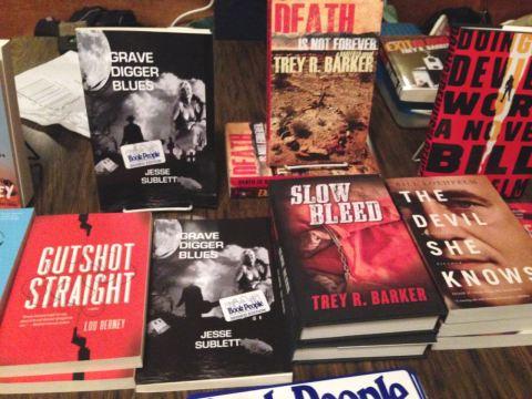 noir at the bar book spread