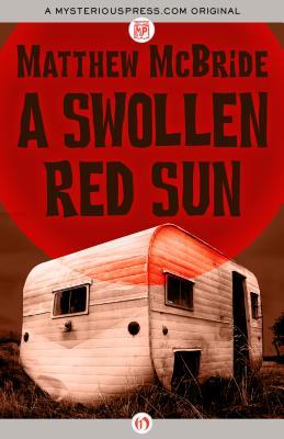 swollen red sun