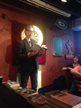 jesse sublett reading noir at the bar