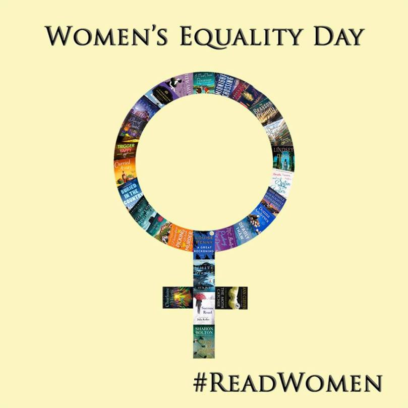 Minotaur Books Created This Stunning Image to Celebrate Women's Equality Day